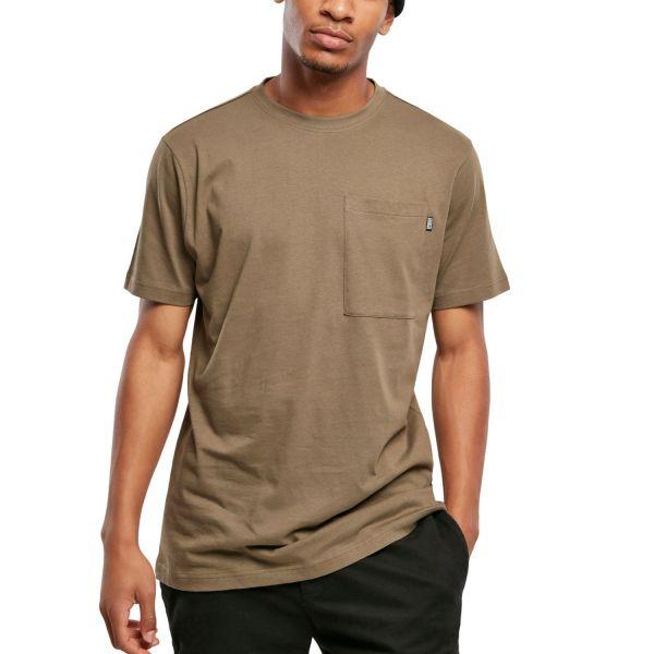 Urban Classics - Basic Pocket Shirt navy