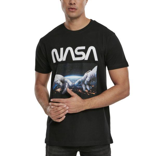 Mister Tee Shirt - NASA Astronaut Hands noir