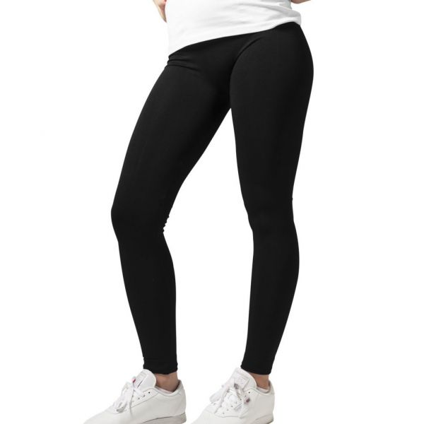 Urban Classics Ladies - PA Stretch-Fit Leggings schwarz