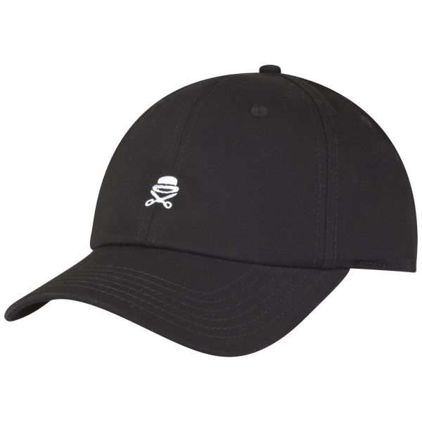 Cayler & Sons Curved Straback Cap - SMALL ICON schwarz