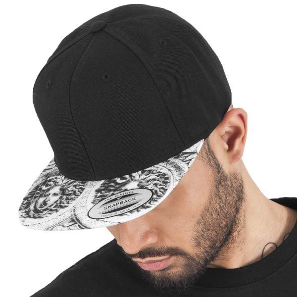 Flexfit SUN KING Snapback Cap - schwarz / weiß