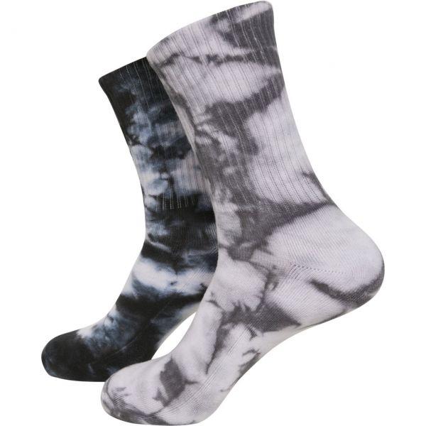 Urban Classics - Tie Dye Batik High Socken 2er Pack