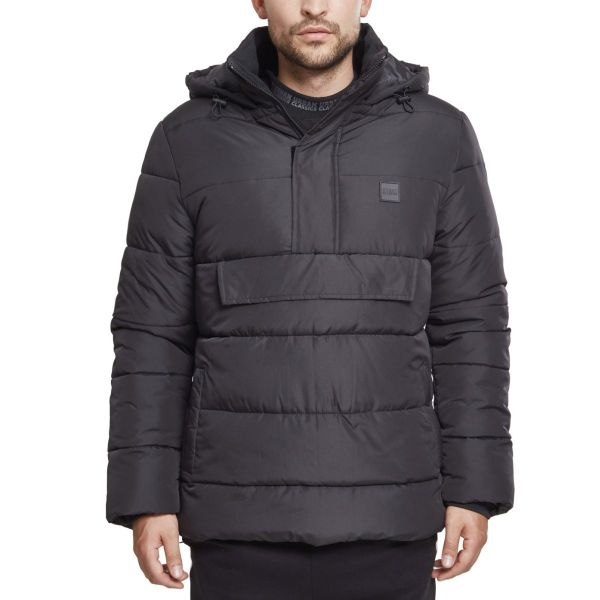 Urban Classics - Pull-Over Puffer Stepp Winterjacke