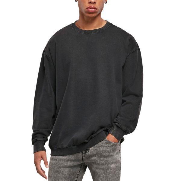 Urban Classics - Acid Washed Oversized Pullover Crewneck