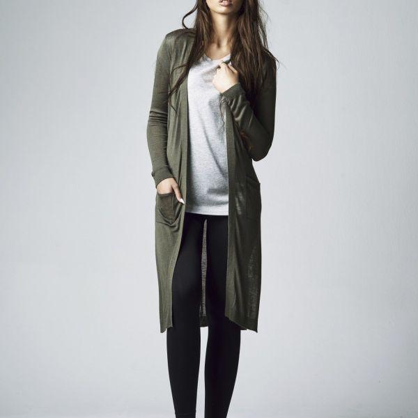 Urban Classics Ladies - FINE KNIT Long Feinstrick Cardigan