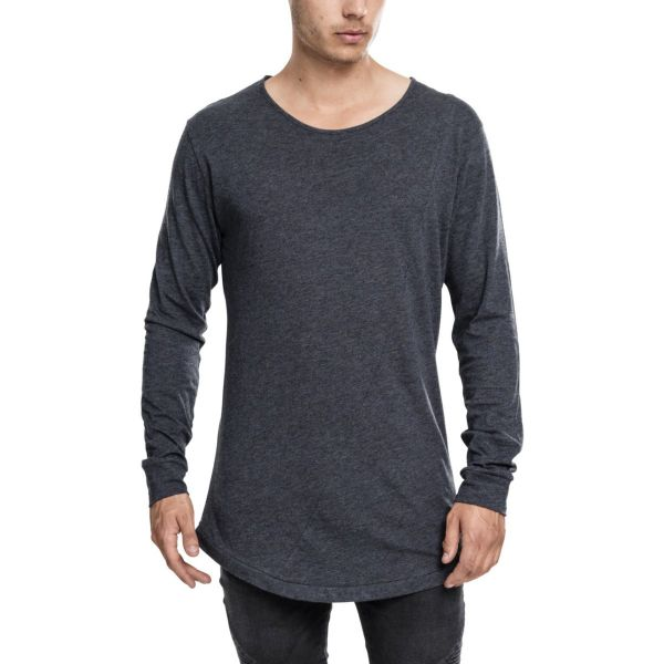 Urban Classics - SHAPED FASHION Longsleeve Shirt extra lang