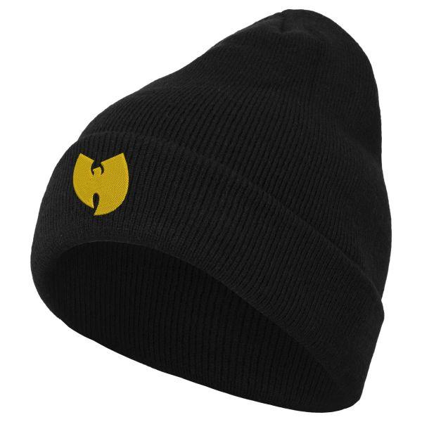 Wu-Wear Logo Beanie noir