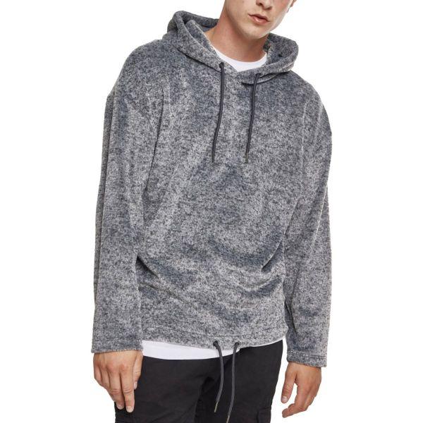 Urban Classics - Plushy Oversize Hoody grey