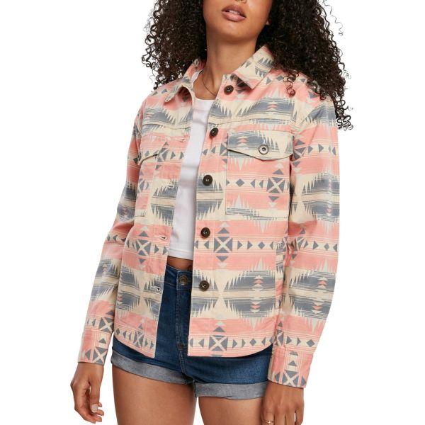 Urban Classics Ladies - Inka Oversized Shirt Jacket