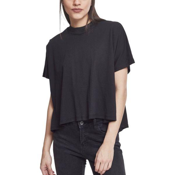 Urban Classics Ladies - OVERLAP Top HiLo Shirt