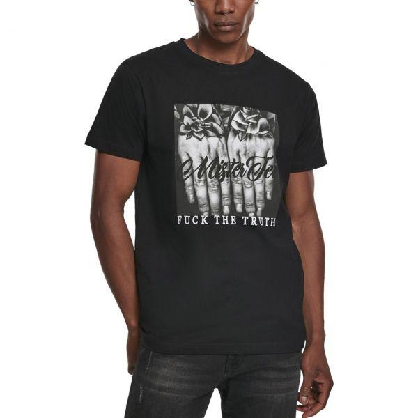 Mister Tee Shirt - F#?K THE TRUTH blanc