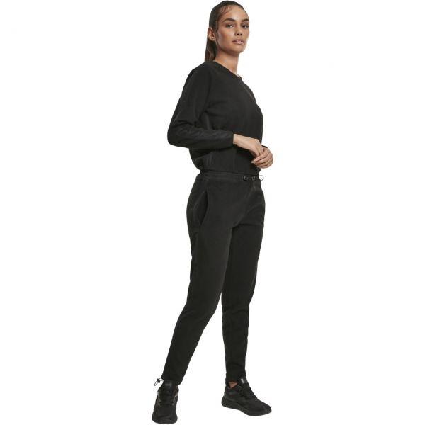 Urban Classics Ladies - POLAR Fleece Jumpsuit schwarz