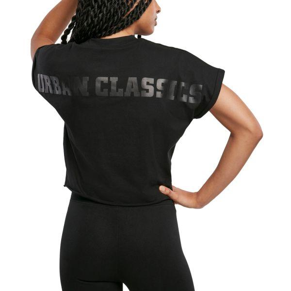 Urban Classics Ladies - Short Oversized Top schwarz