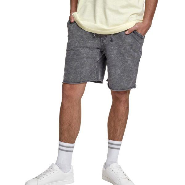 Urban Classics - VINTAGE Terry Shorts gris