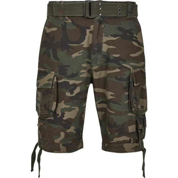 Brandit SAVAGE Vintage Worker Cargo Army Outdoor Shorts
