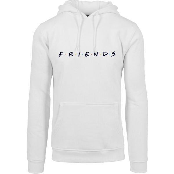 Merchcode Fleece Hoody - FRIENDS blanc
