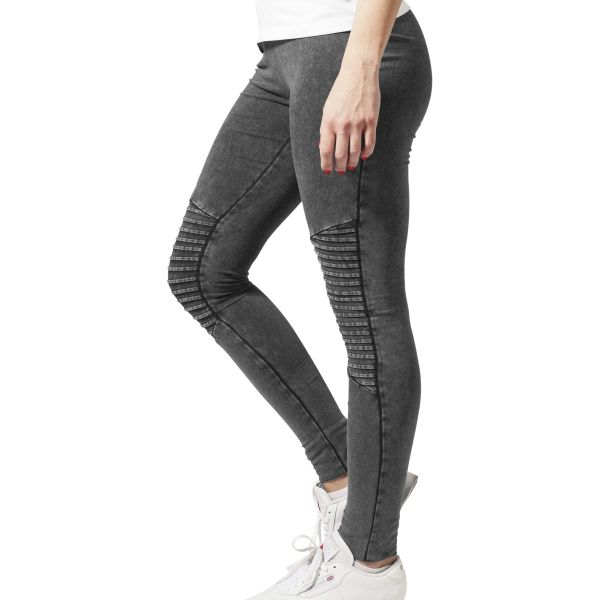 Urban Classics Ladies - DENIM JERSEY Stretch Leggings