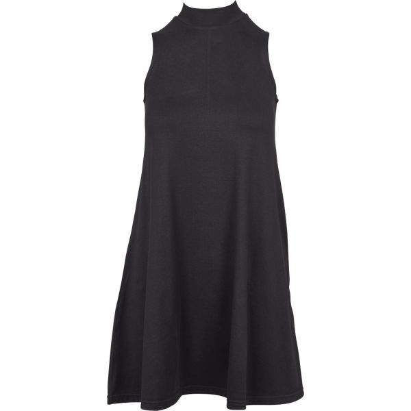 Urban Classics Ladies - A-LINE Stehkragen Sommer Mini Kleid