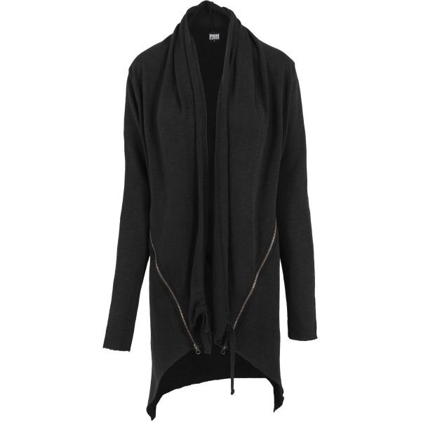 Urban Classics Ladies - SLUB TERRY Long Cardigan Jacke
