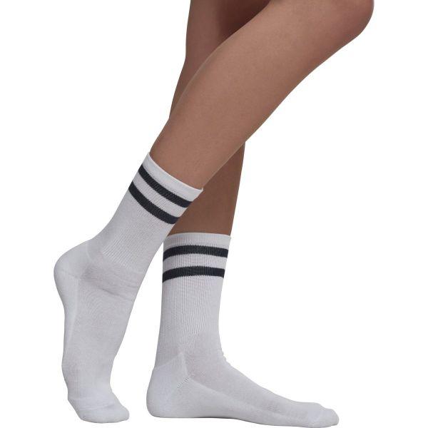 Urban Classics - 2-STRIPE Unisex Tennis Socken 2er Pack