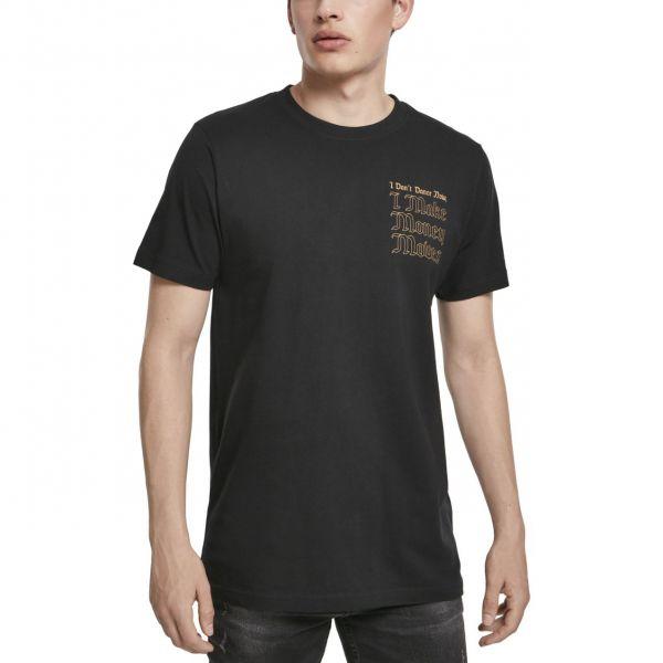 Mister Tee Shirt - MONEY MOVES schwarz