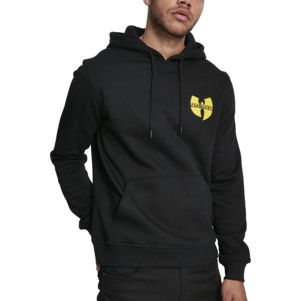 Wu-Wear Hip Hop Hoody - CHEST LOGO black
