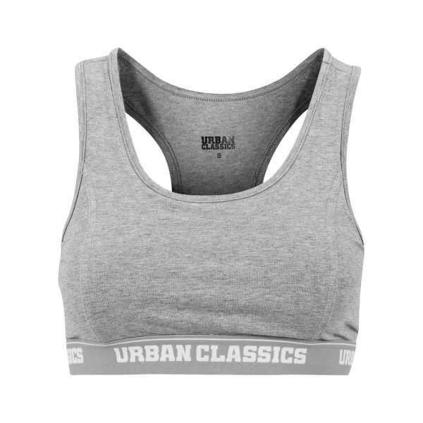 Urban Classics Ladies - SPORTS LOGO FITNESS BRA