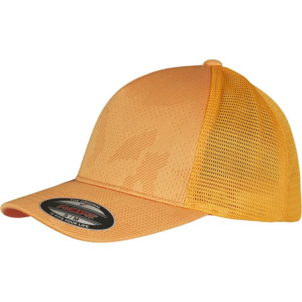 Flexfit Jacquard Stretch-Fit Trucker Mesh Cap