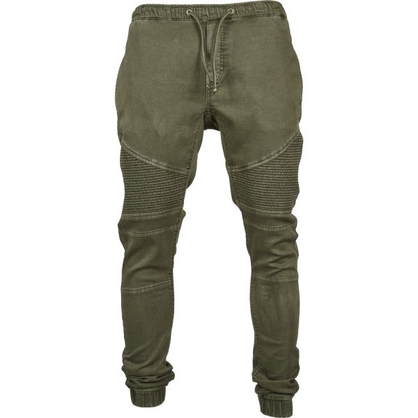 Urban Classics - Biker Denim Jogging Pants Hose