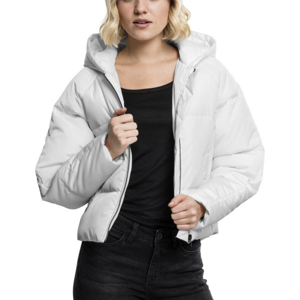Urban Classics Ladies - Oversized Puffer Winterjacket black