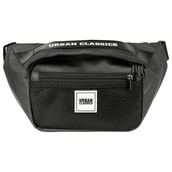 Urban Classics - Coated Shoulder Bag Umhängetasche schwarz