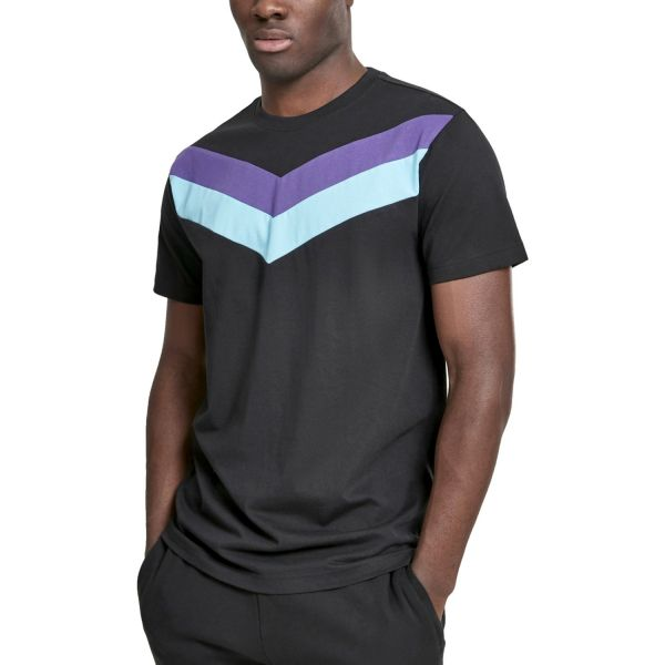 Urban Classics - ARROW Shirt noir / gris