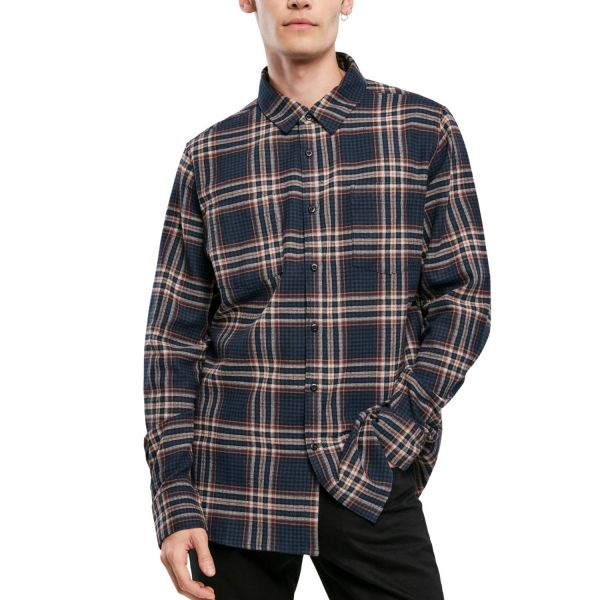 Urban Classics - CHECKED FLANELL Campus Hemd