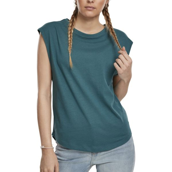 Urban Classics Ladies - Basic Shaped Top Shirt vintage