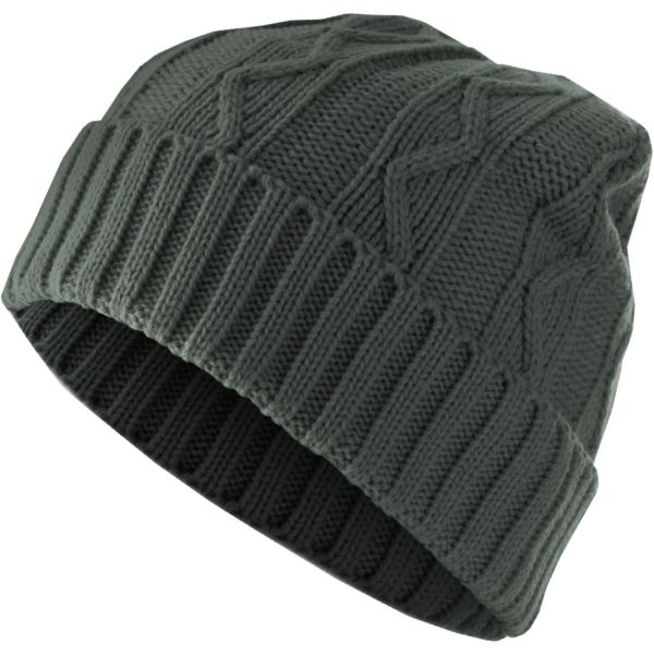 Urban Classics Winter Beanie Strick Mütze - CABLE FLAP