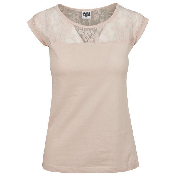Urban Classics Ladies - FLOWER Fashion Loose Top Shirt