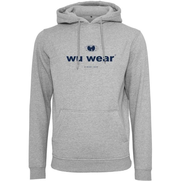 Wu-Wear Hip Hop Hoody - Since 1995 heather grey