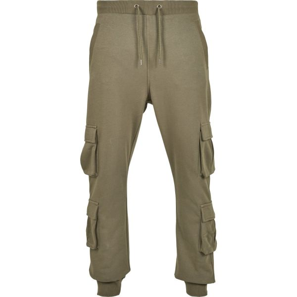 Urban Classics - Double Pocket Cargo Terry Sweatpants