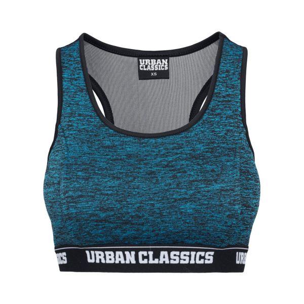 Urban Classics Ladies - Active Melange Fitness Sport Bra