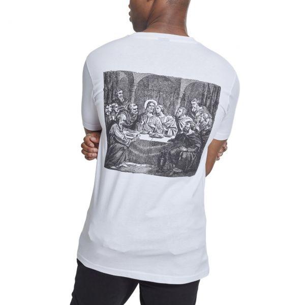 Mister Tee Shirt - CLIQUE weiß
