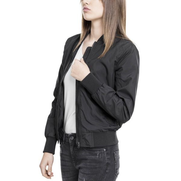Urban Classics Ladies - LIGHT BOMBER Leichte Übergangs Jacke