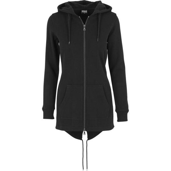 Urban Classics Ladies - SWEAT PARKA Long Zip Hoody