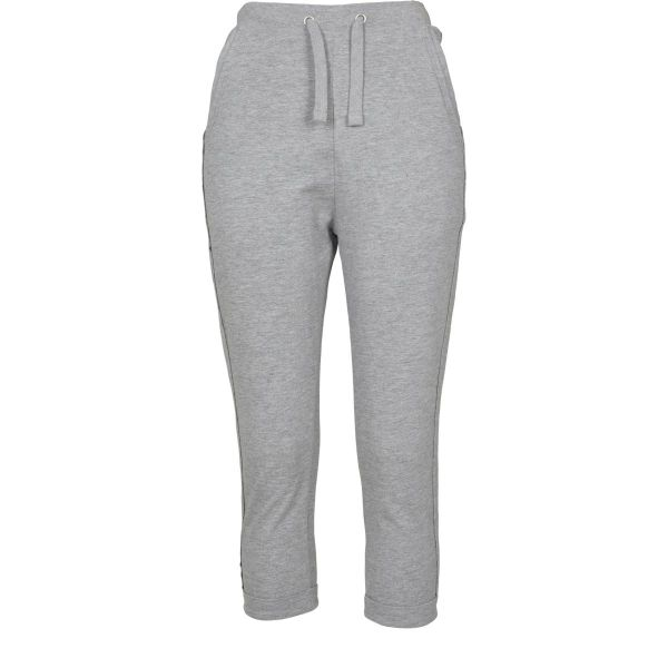 Urban Classics Ladies - Open Edge Terry Turn Up Sweat Pants