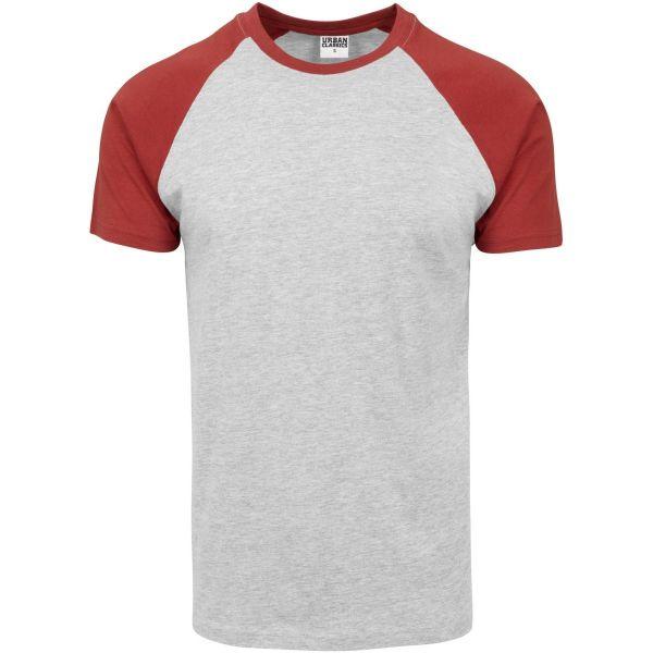 Urban Classics - RAGLAN Contrast T-Shirt dustyblue