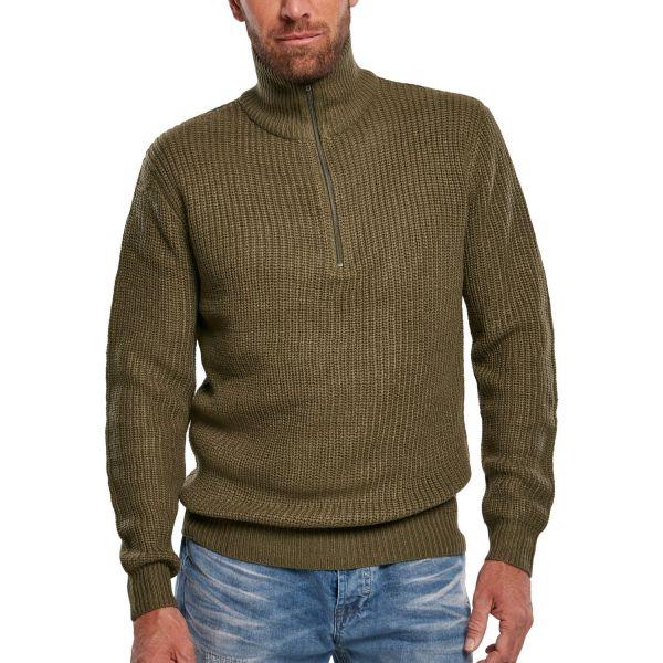 Brandit MILITARY Army Marine Troyer Sweater black