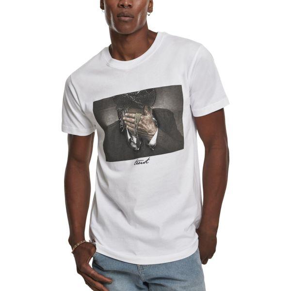 Mister Tee Shirt - TRUST blanc