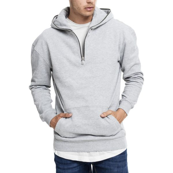 Urban Classics - TROYER Fleece Hoody grey