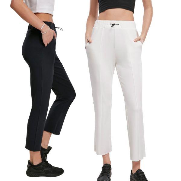 Urban Classics Ladies - Soft Interlock Stretch 7/8 Hose