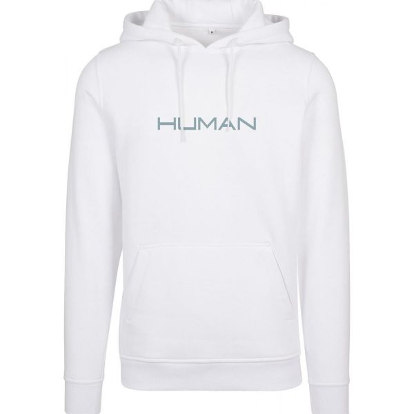 Merchcode Hoody - HUMAN weiß