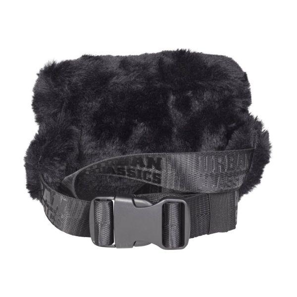 Urban Classics - TEDDY Mini Beltbag Umhängetasche schwarz